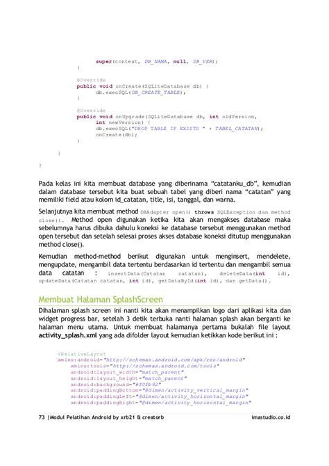 tutorial lengkap cara membuat aplikasi android sederhana tutorial lengkap cara membuat aplikasi android sederhana