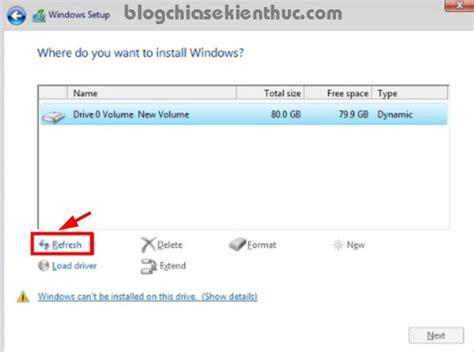 install windows 10 dynamic disk sửa lỗi kh 244 ng c 224 i được win cannot install windows on