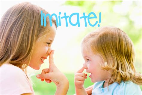 Imitating For by Imitate The Children S Place Speech Therapy