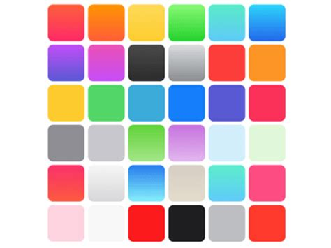ios colors apple ios 7 colors sketch freebie free resource