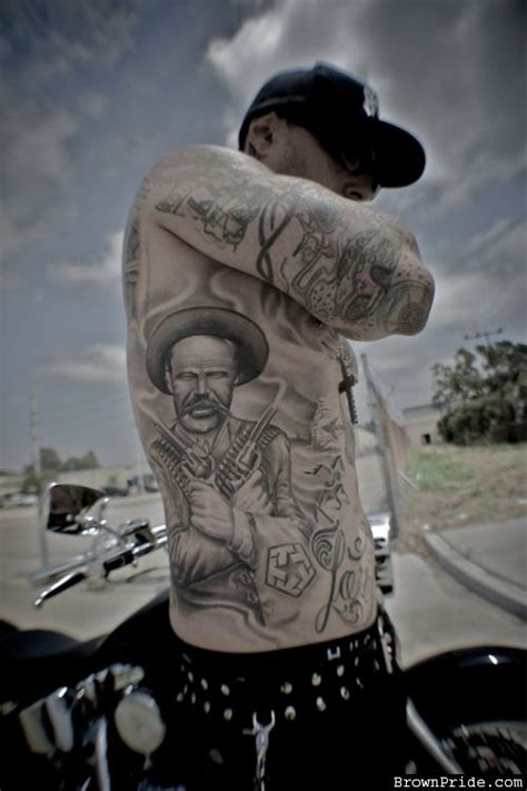 pancho villa tattoo pancho villa brownpride photo gallery bp