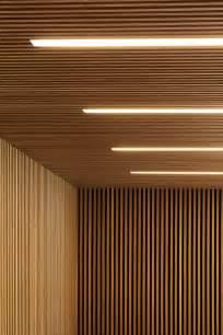 Hyla Architects lambris mural design et panneaux d 233 co en lamelles de bois