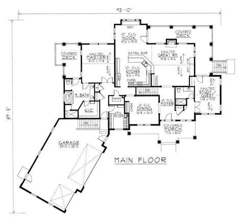 ranch house plans with in law suite craftsman ranch in suite house plans home design rdi 2500r1 db 18953