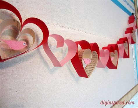 Valentines Day Diy Decorations by Innovative Idea Diy Valentines Day Garland Crafts