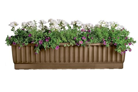 Gardeners Supply Self Watering Window Boxes Self Watering Planters 39 Inches