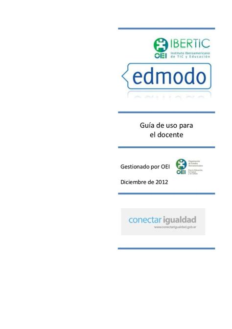 tutorial de edmodo en español pdf 221 mejores im 225 genes sobre coordinaci 211 n tics jccm en