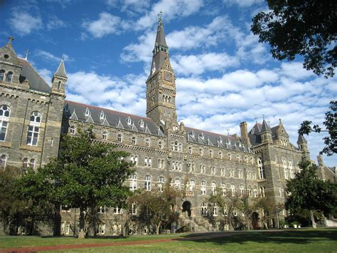 Georgetown Sports Management Mba by List Of Colleges And Universities In Washington D C