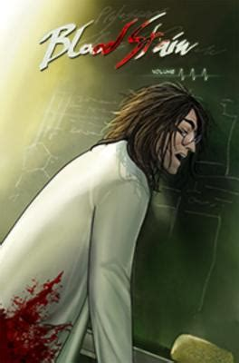 libro blood stain volume 3 humor books