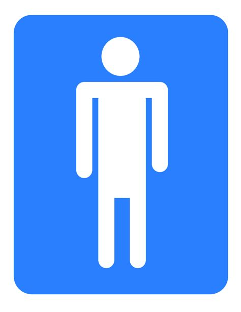 men bathroom logo male bathroom symbol cliparts co