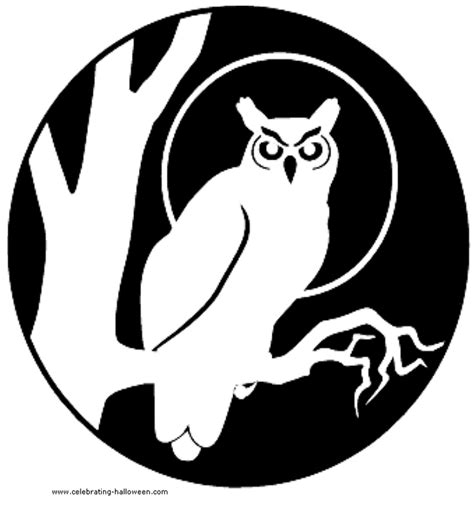 printable owl stencil pumpkin 47 best images about cut it out on pinterest vinyls