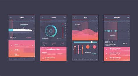ui layout unit content user interface designs by balraj chana