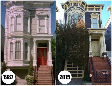 family house san francisco the quot full house quot victorian in san francisco today then and now a present and family