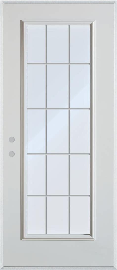 34 Inch Door by Stanley Doors 34 Inch X 80 Inch 15 Lite Grille