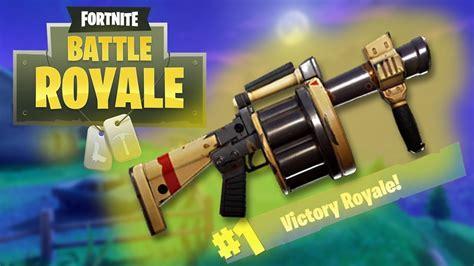 fortnite launcher legendary grenade launcher bounce fortnite battle