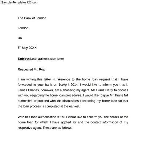 authorization letter bank simple bank authorization letter sle templates