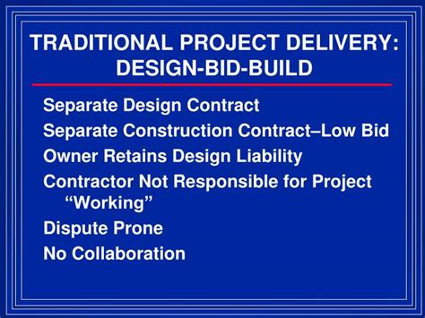 design and build contract liabilities ppt cso s partnerships can save money and provide