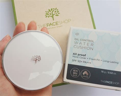 Harga The Shop Water Cushion Di Counter sponsored review thefaceshop water cushion