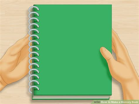 How Do You Make A Paper Book - 3 ways to make a memory book wikihow