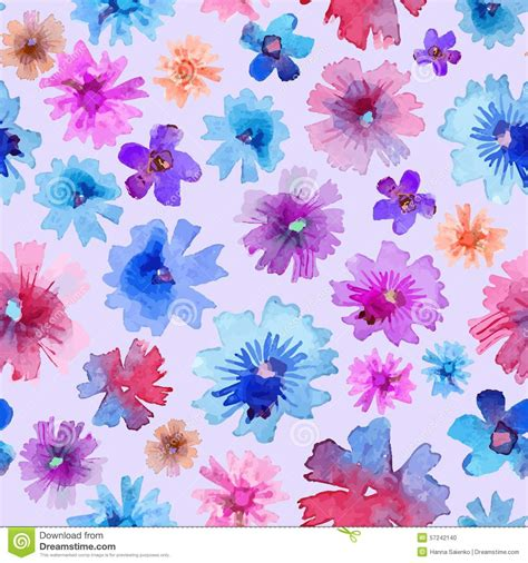 flower pattern modern abstract watercolor flower pattern modern flower pattern