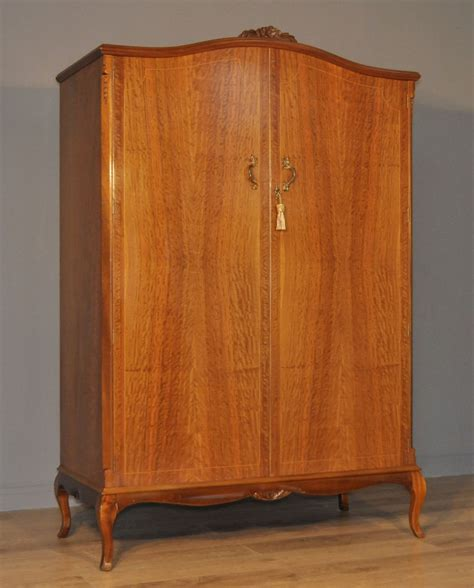 large armoire wardrobe attractive large vintage arch top walnut double wardrobe