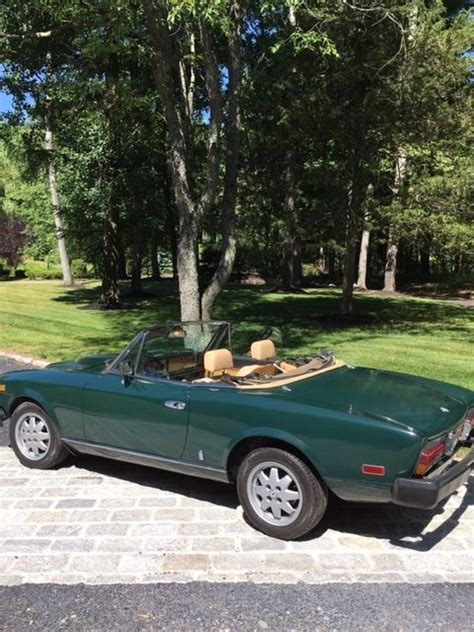 fiat spider convertible top fiat spider convertible classic fiat 124 spider 1981 for