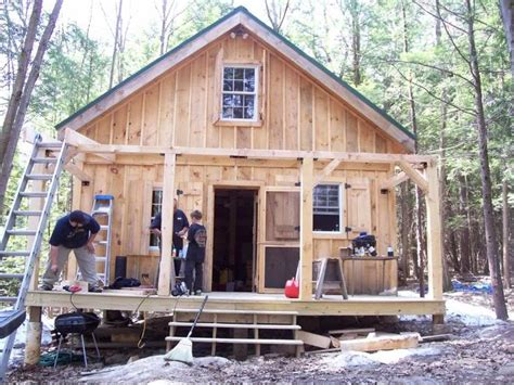tiny cottage for rent lee nh diary of a 20x24 cabin going up in nh construction at