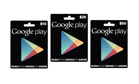 How To Use A Google Play Gift Card - google play gift cards officially launched