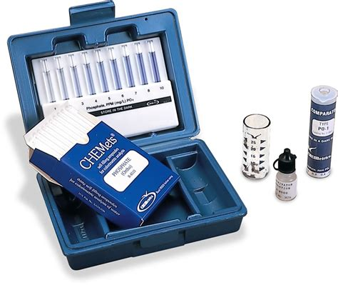 Dissolved Oxygen Kit chemets water test kit dissolved forestry suppliers inc