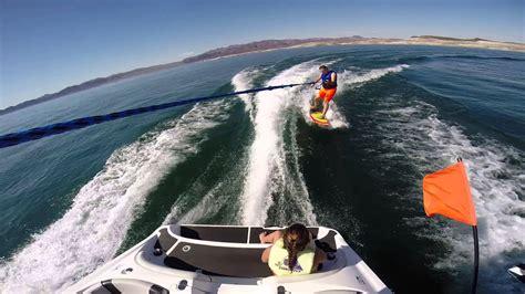 wakesurf jet boat youtube wakesurfing on a yamaha ar192 gopro hero3 black edition
