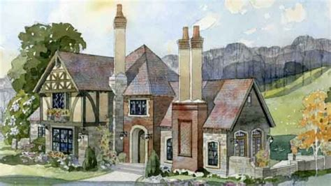 tudor cottage plans southern living house plans english tudor house plans