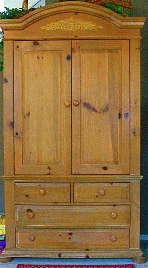 broyhill fontana tv armoire  furnitureandmores garage