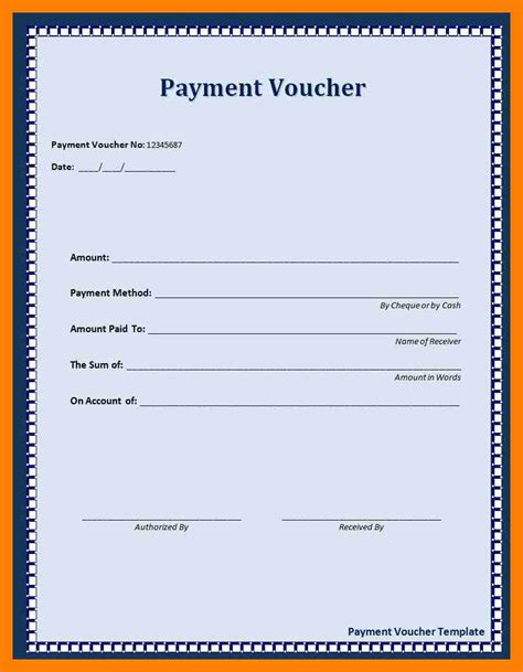 8 receipt voucher template resign template