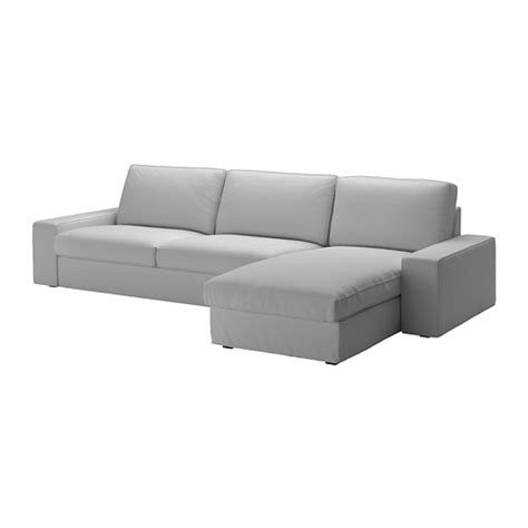 Ikea Chaise Lounge Sofa Kivik Sofa And Chaise Lounge Orrsta Light Gray Ikea