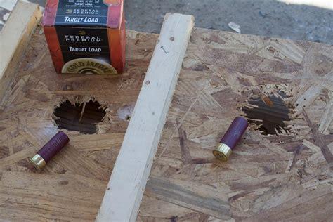 define buck up mad gun science is birdshot effective for home defense