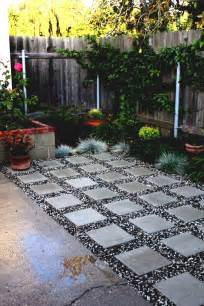 garden landscaping simple paving designs design with