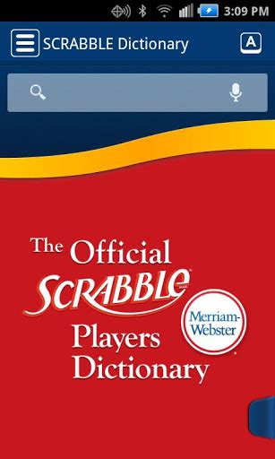 official scrabble players dictionary 4th edition scrabble dictionary apk new apk