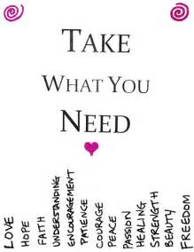 take what you need template take what you need printable version original image i