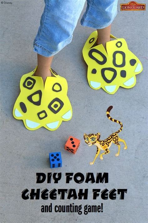 cheetah crafts for 561 best animals activities for images on