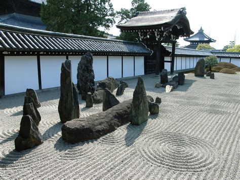 Asian Rock Garden Japanese Rock Garden 枯山水 Karesansui