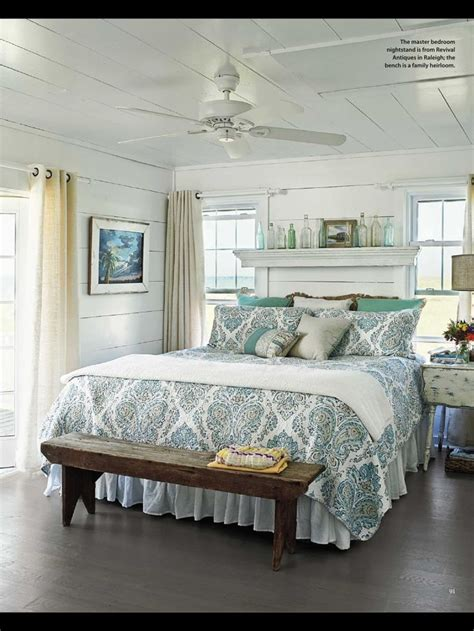 cottage style bedroom  beach cottage decorating ideas