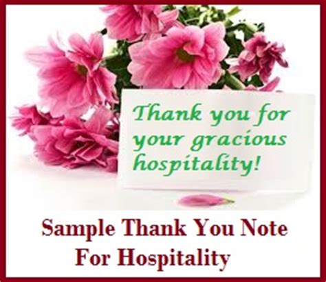 thank you letter to your friend for hospitality sle messages and wishes thank you for hospitality