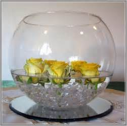 wonderful Black And White Dining Room Ideas #3: fish-bowl-vase-decoration-ideas.jpg