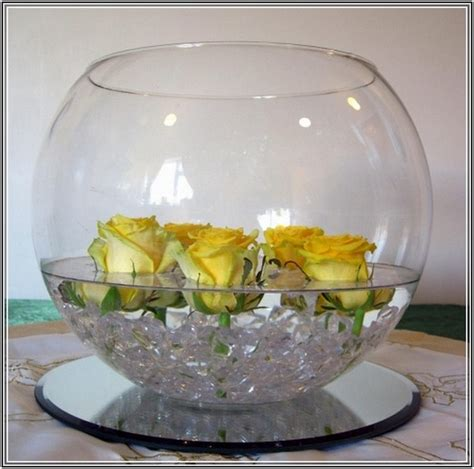 Fish Bowl Vase Decoration Ideas large glass vase decoration ideas home design ideas
