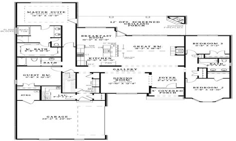 Floor Plans With Pictures Unique Open Floor Plans Open Floor Plan House Designs Open Floor Plans For Small Homes