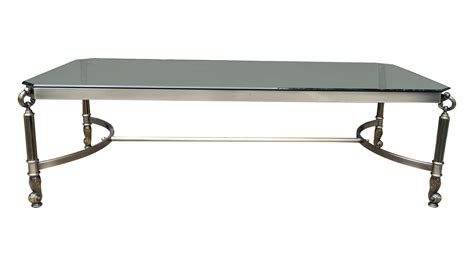 Glass Top Metal Coffee Table Glass Top With Metal Base Coffee Table Chairish