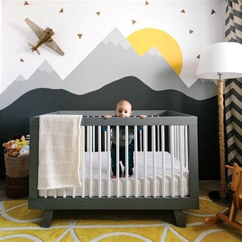 modern nursery decor ideas favorable modern baby nursery ideas mountain nursery nursery decor mountains jpg ping home