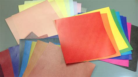 Origami Colored Paper - print your own solid colors origami paper print colored