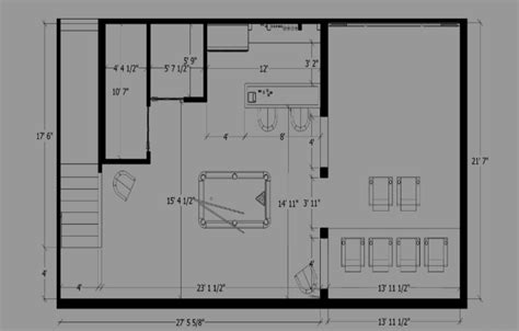 man cave floor plans man cave designs man cave furniture floor plans