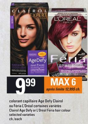 l oreal age defy hair color clairol age defy or l or 233 al feria on sale salewhale ca