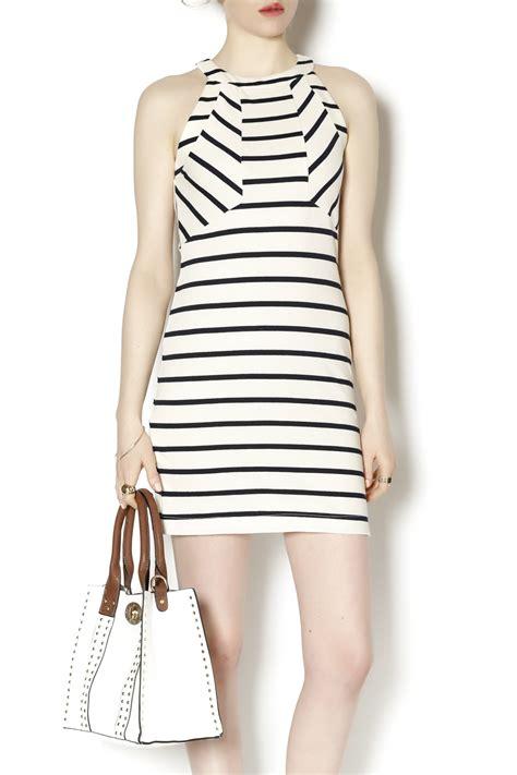 Stripe Halter townsen stripe halter dress from connecticut by wishlist